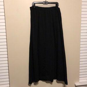 Black maxi GAP skirt